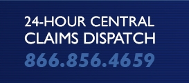 24-hour central claims dispatch: 866-856-4659