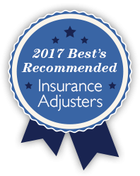 2017 Best Insurance Adjusters Ribbon